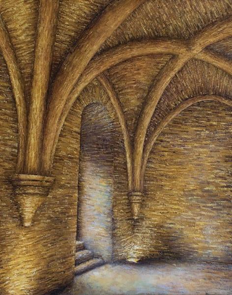 Sous-sol de l'Abbaye de Fontenay