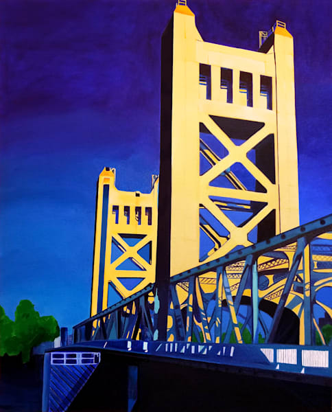 Golden (Tower Close  Up) 11x14 Art | HFA print gallery