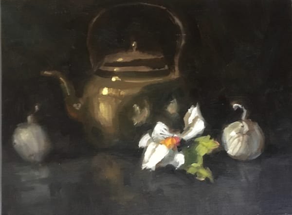 Brass Teapot Art | donaldhildreth