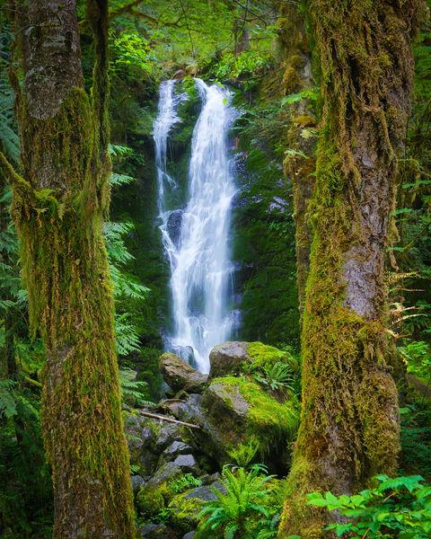 Pnw Merriman Falls 1 Photography Art | John Martell Photography