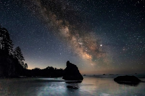 Pnw Ruby Beach Milky Way 1 Photography Art | John Martell Photography