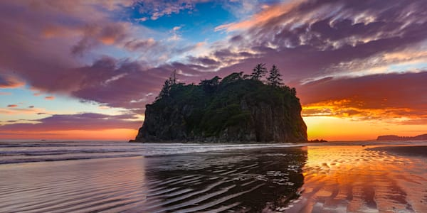 Pnw Ruby Beach Sunset 4 Photography Art | John Martell Photography