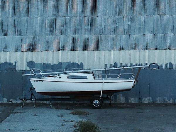 Land Boat in Grey
