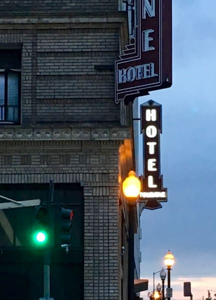 Downtown Oakland Hotel for Sale as Fine Art