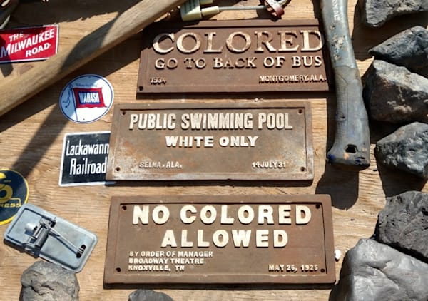 No Colored Allowed for Sale as Fine Art Print