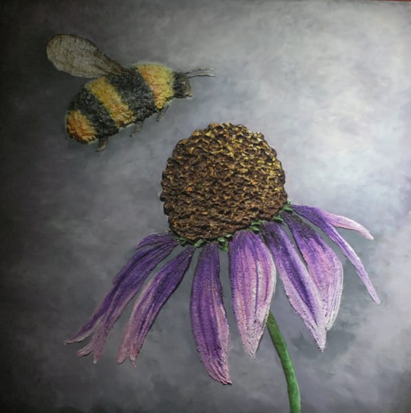 Beautiful Bee Art | Alison Galvan Fine Art