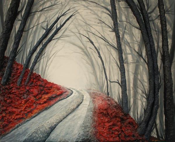 Misty Road Art | Alison Galvan Fine Art