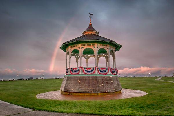 Oak Bluffs Bandstand Rainbow Art | Michael Blanchard Inspirational Photography - Crossroads Gallery