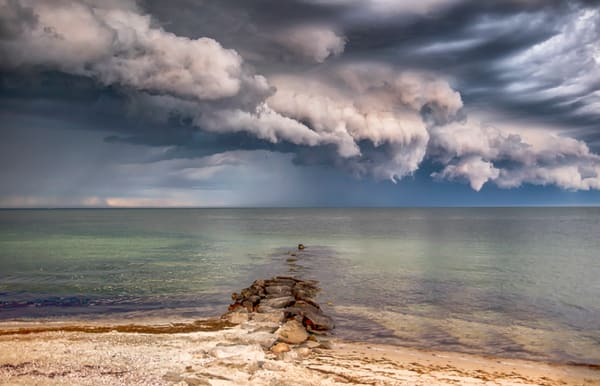 Inkwell Thunderstorm Clouds Art | Michael Blanchard Inspirational Photography - Crossroads Gallery