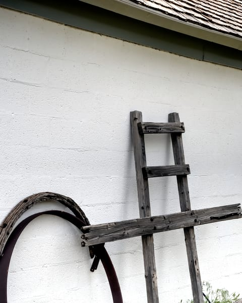 Wagon Wheel And Ladder