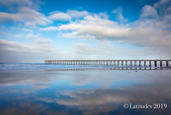 """Mirrored Pier at Hueneme"""""