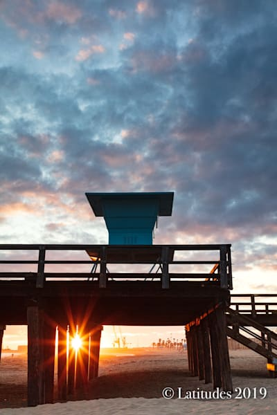 """Pier Watch Sunset"""