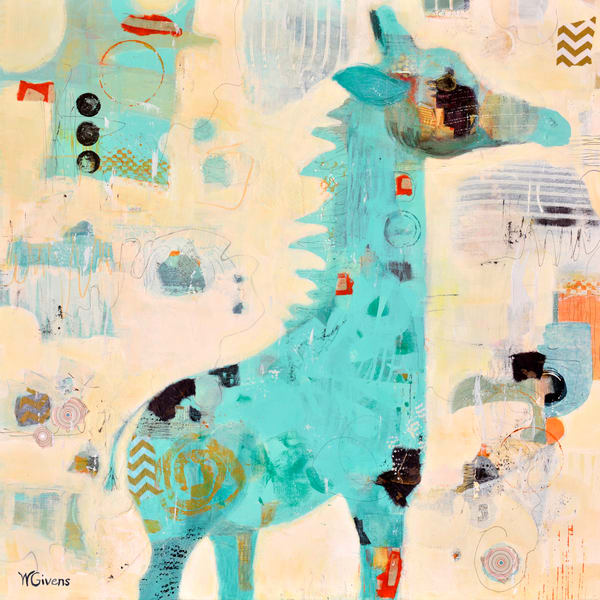 Baby Blue Art | Wendy Givens Art