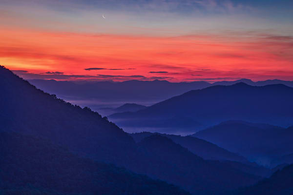 Nantahala sunrise photography print