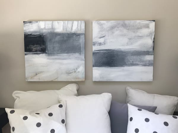 Black And White Abstracts Art | Debbie Dicker - Art