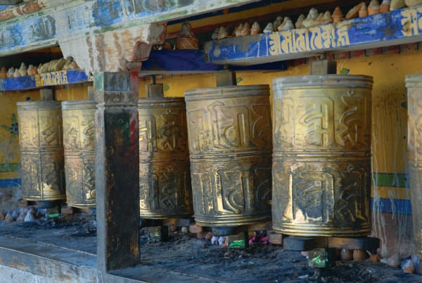 Prayer Wheels Tibet | Lauree Feldman | Roost Artist