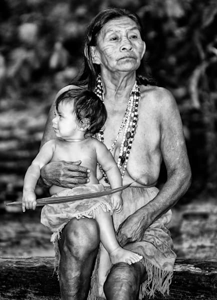 Grandmother And Grandson Photography Art | Roberto Vámos Photography