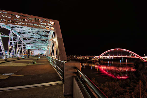 Bridges Night Art | Nashville Noted Photography