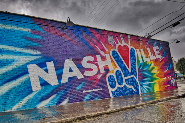 Nashville Mural B Art | Nashville Noted Photography