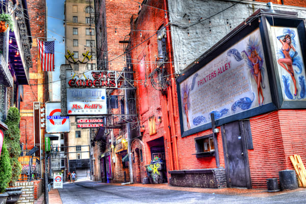 Printers Alley Art | Nashville Noted Photography