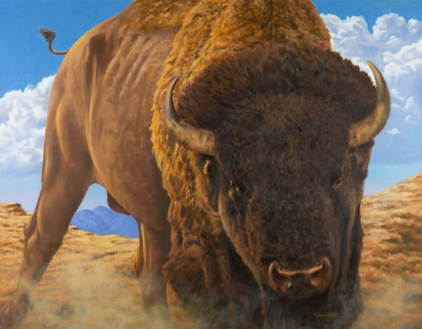 "Raymond Wattenhofer Art Print ""Great Plains Icon"""
