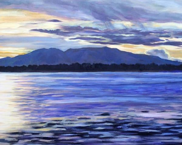 Rope of Splendor - Mt. Susitna, Alaska art print