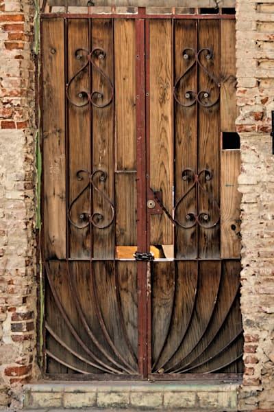 Oaxacan Wood Door