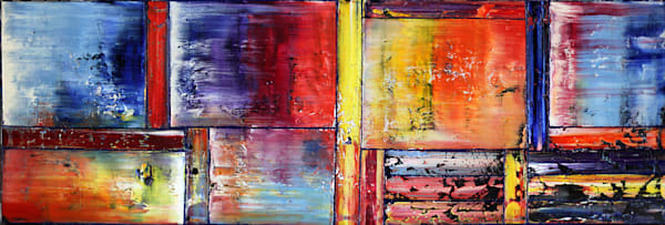 Pride And Joy large abstract
