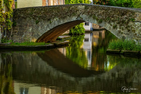 Bruges Bridge Photography Art by Gary Johnson Photography