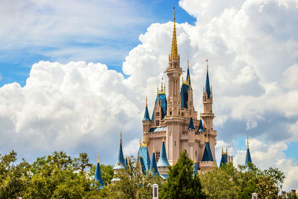 Perfect Disney Day 5 - Disney Castle Wall Art | William Drew Photography