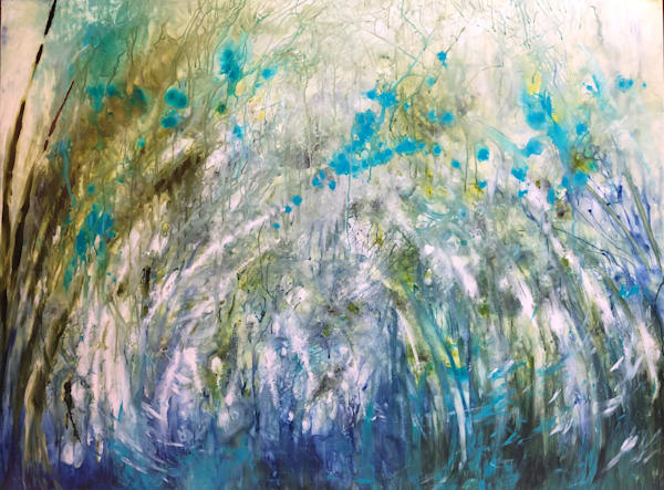 PARTICLE, an original painting by Kim Howes Zabbia