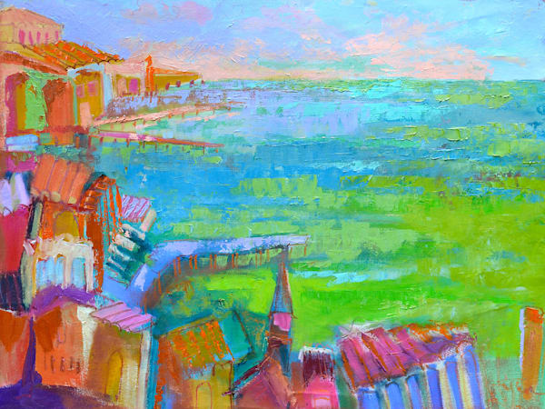 Contemporary Impressionist Oil Paintings by Dorothy Fagan
