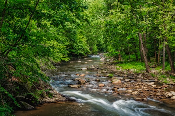 Nantahala River runs through it photography print