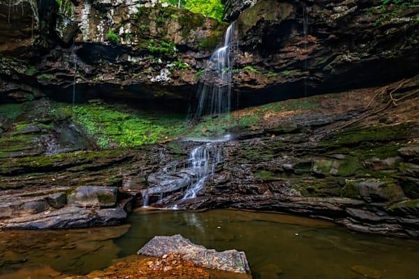 Cloudland Canyon waterfall on Daniel Creek photography print