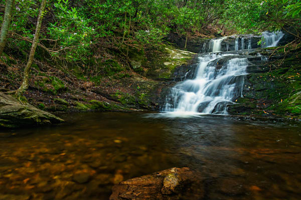 Big Laurel Falls photography print