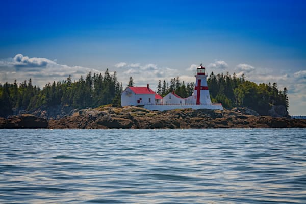 East Quoddy Head Lighthouse by Rick Berk