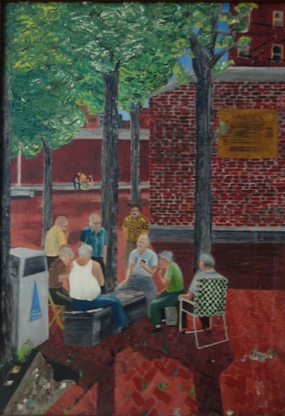 'the Card Players' Art   Cera Arts