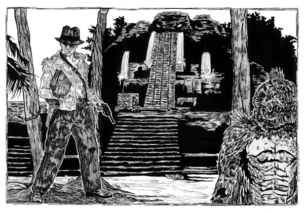 Indiana Jones and the temple of Cthulhu