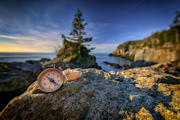 The Compass at Gulliver's Hole