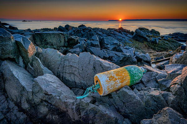 Sunrise on Passamaquoddy Bay by Rick Berk