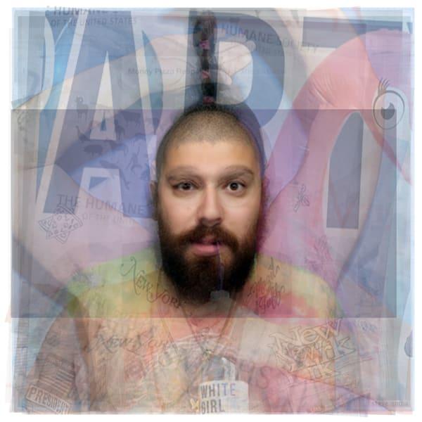 Overlay art – contemporary fine art prints of instagram influencer The Fat Jewish.