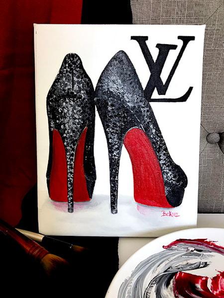 Original Louis Vuitton Red Bottoms