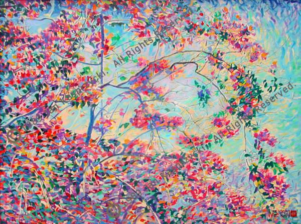 Bougainvillea Art | Kasprzycki Fine Art Inc.