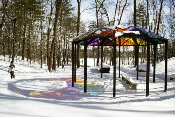 Ashland Memorial Healing Garden, Winter