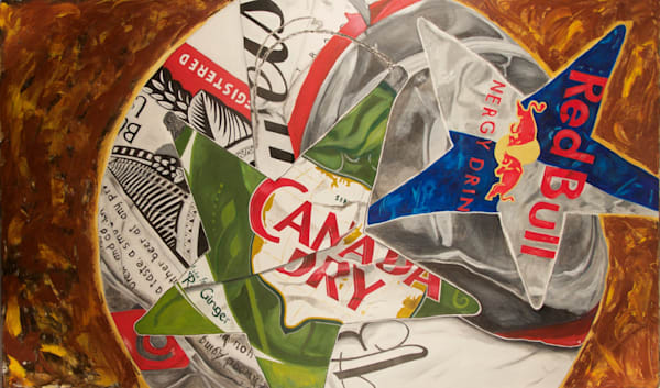 'can Red' Art   Cera Arts