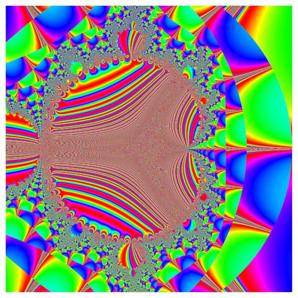 Hybrid Mandelbrot  Sin 4 Pi Re Z Cos 4 Pi Im Z F Z C Sin 1 Over Re Z Im Z Returned  1 1  1 1 Art | Art Design & Inspiration Gallery