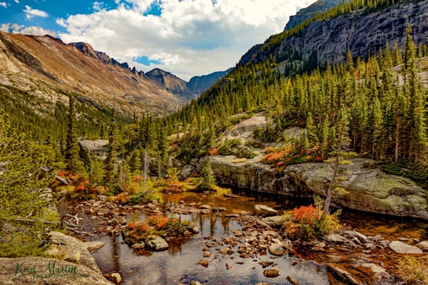 Below Mills Lake Photograph 5201 | Colorado Photography | Rocky Mountain National Park | Koral Martin Fine Art Photography