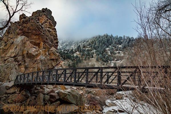 Winter Scene of Boulder Creek Photograph  9156|  Boulder Creek Trail | Colorado Winter Photography |  Koral Martin Fine Art Photography