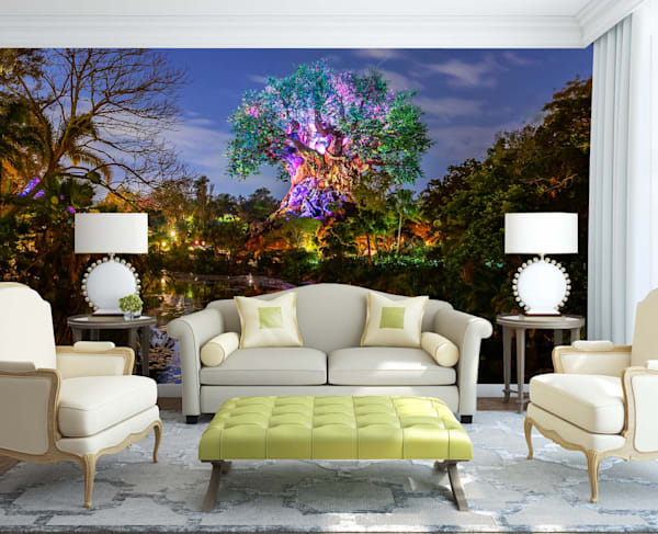 Tree of Life Reflections - Disney Wall Murals | William Drew
