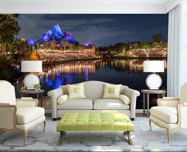 Reflections of Everest - Disney Wall Murals | William Drew
